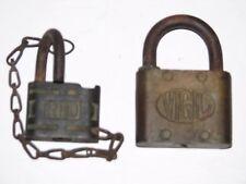 Pair of Antique locks. Vigil and an RFD.