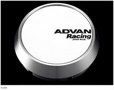 YOKOHAMA ADVAN Racing wheels Center Cap MIDDLE (φ73 white anodized) from JAPAN