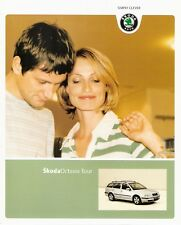 Prospekt/brochure skoda Octavia Tour 09/2005
