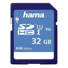 Hama 32gb SD Card SDHC Full HD Memory Card Class 10  for Digital Camera Video