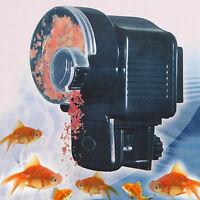 Automatic Auto Aquarium Fish Feeding Fish Tank Bowl Food Feeder Timer Dispenser