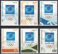 Greece- 2000 Athens 2004 Olympic games 1st issue complete set MNH **