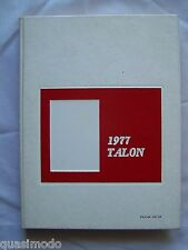 1977 LETO HIGH SCHOOL YEAR BOOK, TAMPA FLORIDA - THE TALON  UNMARKED!