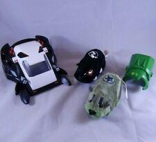 Kung Zhu Zhu Pets Lot RIVET & DRAYKO Battle Armor & Spider Skull Tank Hamsters