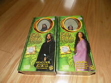 Set Lord of the Rings 12 inch scale collector series Arwen & Aragorn by ToyBiz