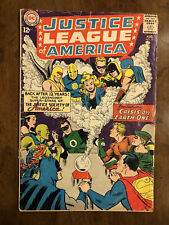 Justice League of America #21 in 2.0 GD Re-intro of Justice Society! B@@yah!