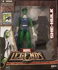 SDCC Fantastic Four SHE HULK - Jennifer Walters attorney|Marvel legends figure