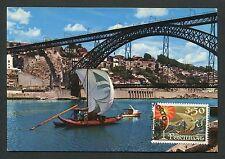 PORTUGAL MK SCHIFFE SHIPS RABELO VINE WINE CARTE MAXIMUM CARD MC CM d6411