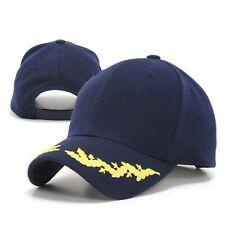 Navy Blue Scrambled Egg Eggs Oak Leaf Visor Military Officer's Baseball Cap Hat