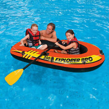 Intex Explorer 200 Inflatable 2 Person River Boat Raft Set !!!! ships fast !!!!!