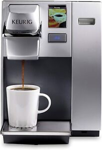 Keurig K155 Office Pro Single Cup Commercial K-Cup Pod Coffee Maker Silver