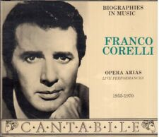 Franco Corelli: Opera Arias (Live Performances) 1955 - 1970 - CD