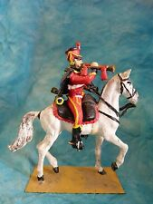 Lead toy soldier - Soldat de plomb - Hussard premier empire (2)