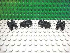 Lego 4 Black technic connector with 4 pins