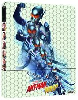 ANT-MAN And The Wasp EDIZIONE STEELBOOK 3D ITALIA (2 BLU-RAY 3D + BLU-RAY)