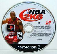 NBA 2K6 (Sony PlayStation 2, 2005) PS2 Basketball 2K Sports Video Game