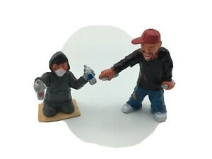 Homies Series 10 Plaster Master and Crayon King Chase Set New From Vending Box