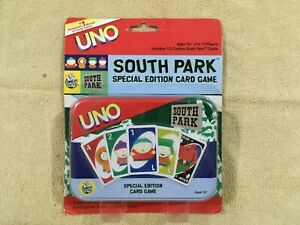 South Park UNO Card Game Special Edition 2004, New Sealed in Package