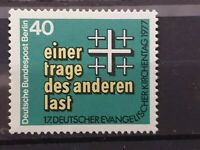 Germany Berlin - 1977 - PROTESTANT CHURCH CONGRESS  - 1  stamp  - MNH