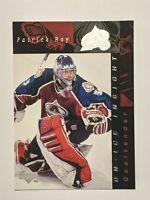 1996-97 Upper Deck On-Ice Insight #365 Patrick Roy Avalanche Hockey Card