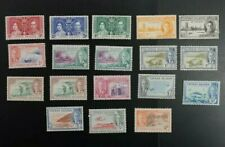 1950 Cayman Islands lot of F/VF KGVI Mint Hinged stamps