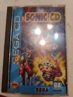 Sonic CD (Sega CD Game) Complete w/ Manual & Case