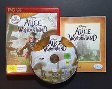 Disney Alice In Wonderland (PC, 2010) PC Game - FREE POST
