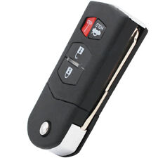 New Remote Flip Key Fob Shell / Case 4 Button for Mazda 3 5 6 RX-8 CX-7 CX-9