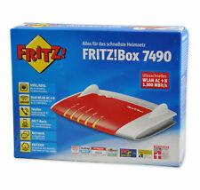 AVM FRITZ!BOX 7490 1300 Mbps WLAN Router VoIP VDSL/ADSL DECT MESH ⭐️⭐️⭐️⭐️⭐