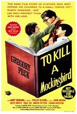 "TO KILL A MOCKING BIRD Movie Poster [Licensed-New-USA] 27x40"" Theater Size"