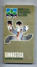 C.O.N.I. # GINNASTICA - GUIDA TECNICA # Panetto & Petrelli 1982 # 1A ED.