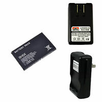 New 1500mAh BH5X Battery + Charger for Motorola Droid x X2 MB810