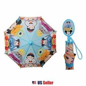 Disney Tsum Tsum Kids Long Umbrella : Tsum Tsum Friends (Blue)