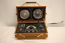 S.O.S.L. RADIO ALARM CLOCK SPIRIT OF ST. LOUIS AVIATION FLIGHT BOX FM AM