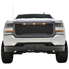 2016-2018 Chevy Silverado Raptor Style Grille ABS Honeycomb with LED Lights