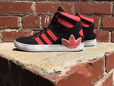 Adidas Hard Court Hi Top Black & Salmon Pink Sneaker Q32562 Men Size 6 Women 7.5