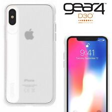 Gear4 Windsor Case for Apple iPhone X XS D30 Shockproof Tough Cover Slim White