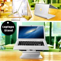 Deluxe Aluminum Stand Laptop  Desktop Dock Holder Tray for Apple MacBook Asus