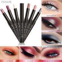 FOCALLURE Waterproof Eyeshadow Pencil Pen Makeup Cream Eye shadow Pen Eyeliner