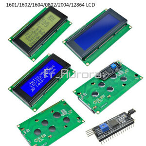 1601/1602/1604/0802/2004/12864 5V/3.3V Character LCD Display Module For Arduino
