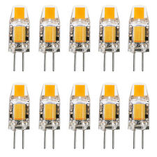 10x G4 3W AC DC 12V Dimmable LED COB Bulb Warm White Light Replace Halogen Lamp