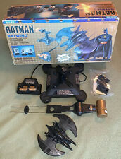 1989 Batman Batwing Blue Box DC Comics Toy/Playset Hard To Find HTF Rare Find