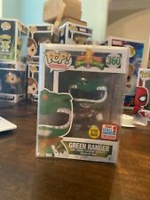 Mighty Morphin Power Rangers Green Ranger Funko Pop GID 2017 Fall Convention
