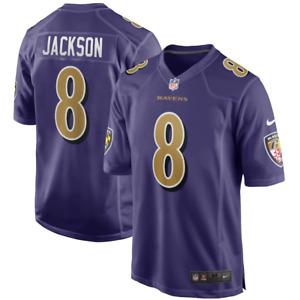 Baltimore Ravens NFL Jersey Nike Men's Alternate Jersey - Jackson 8 - New