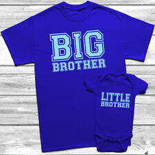 Big Brother Little Brother T-Shirt Kids Baby Grow Brothers Outfits
