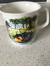 More details for royal doulton winnie the pooh 'the umbrella' collectors mug cup excellent con