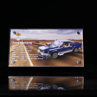 Display plaque  for LEGO Ford Mustang 10265 ( Australia Top Rated  Seller)
