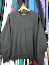 Vtg Black Stussy Crewneck Sweater Sz Large