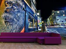 London Graffiti Wall Mural Photo Wallpaper GIANT WALL DECOR Paper Poster