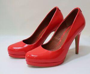 Moda In Pelle Women's Red Pumps 11cm Heels Size UK5   Anne Davies Donation